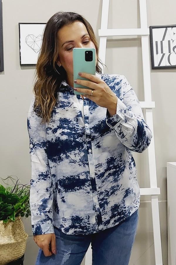 Camisa Amelie Azul