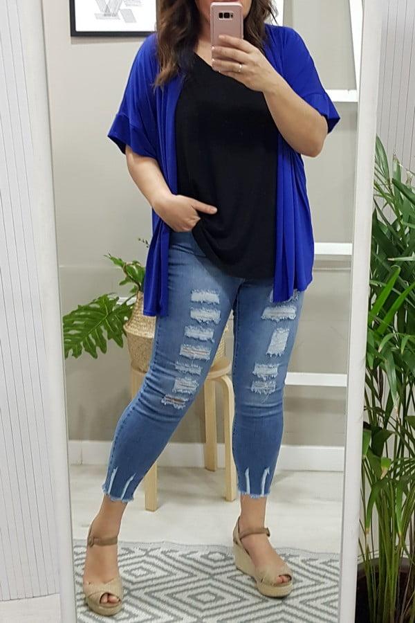 Kimono Azulón Punto