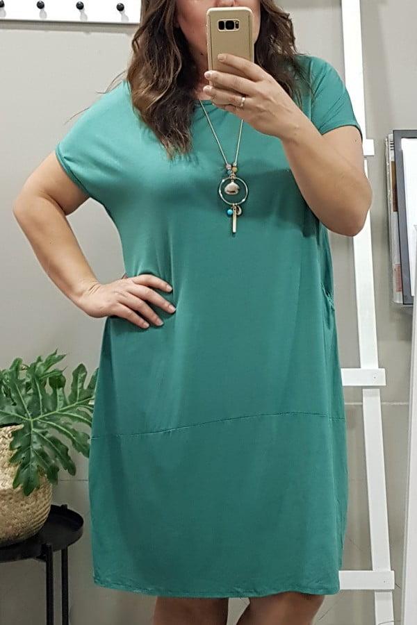 Vestido Verde tallas grandes