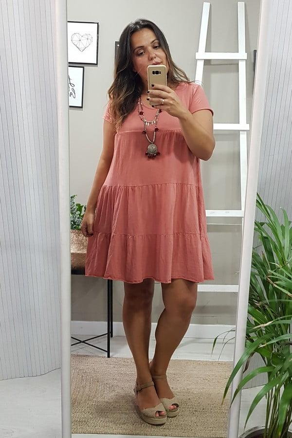 Vestido Marbella Coral