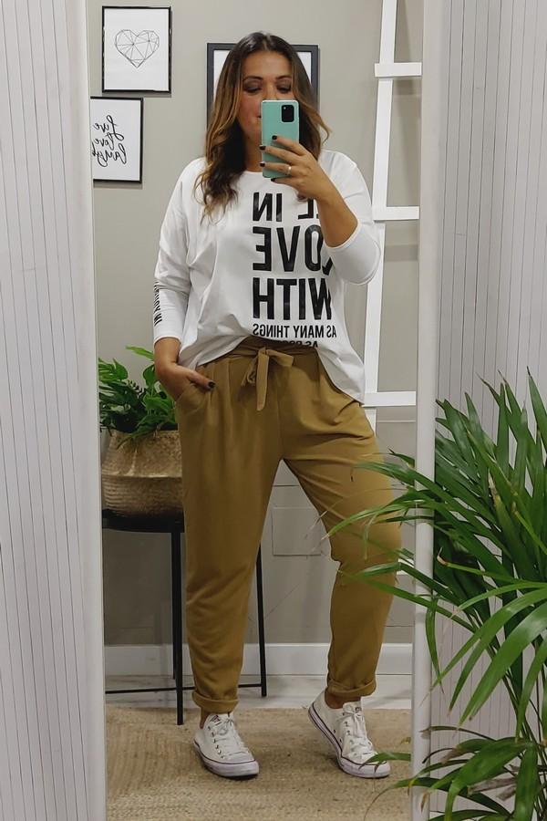 Camiseta blanca tallas grandes