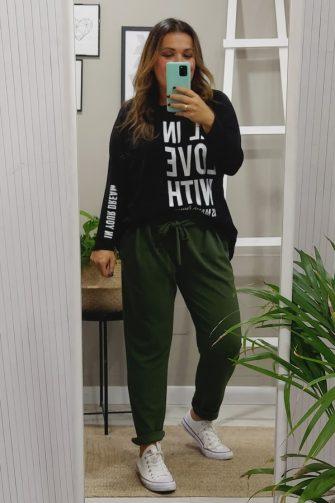Pantalon bolsillos tallas grandes