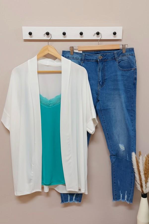 Kimono Blanco Punto