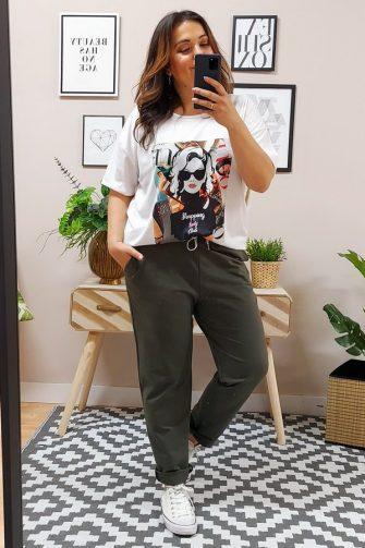 Pantalón Jogger Confort Kaki