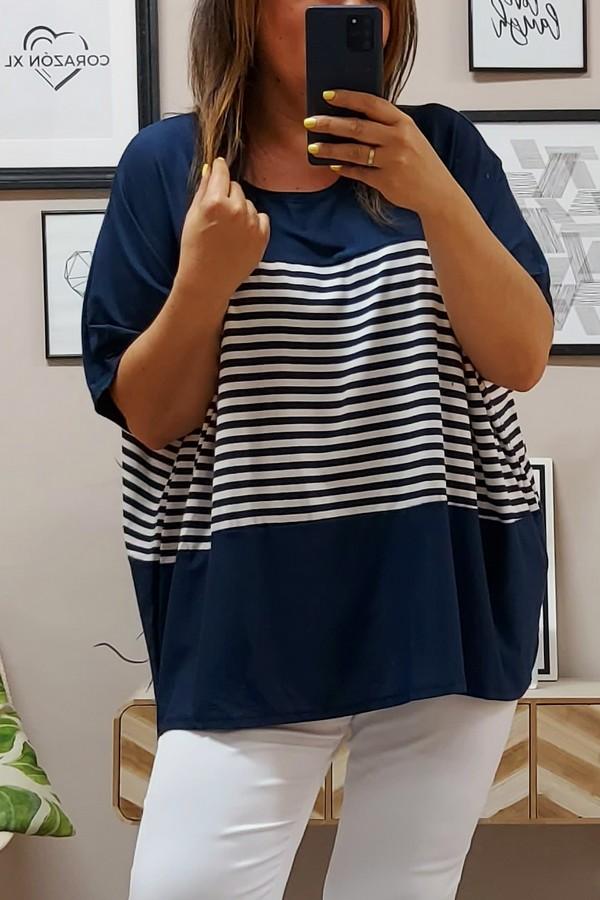 Camiseta Oversize Marinera