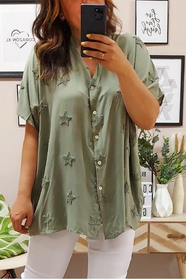 Camisa Sky Kaki