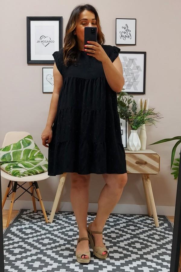 Vestido Carla Negro