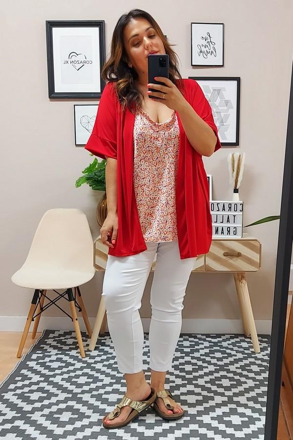 Kimono Punto Rojo