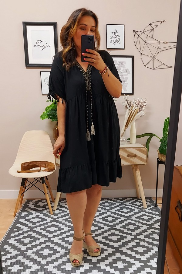 Vestido Ceuta Negro