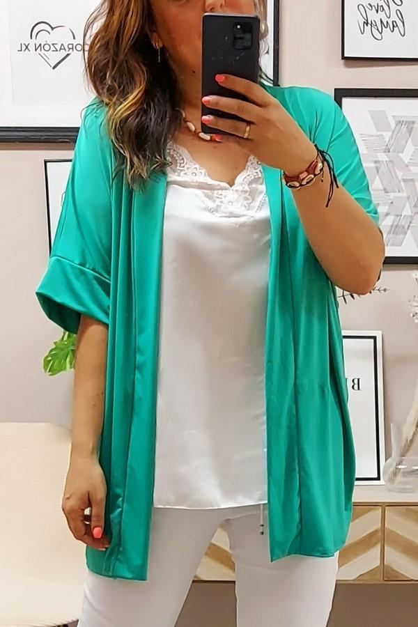 Kimono Punto Aguamarina