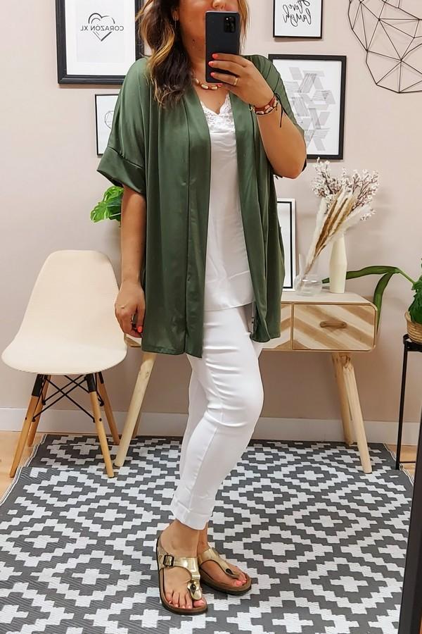 Kimono Punto Kaki