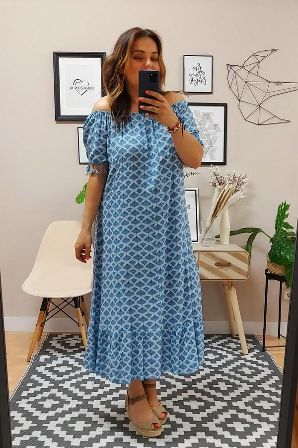 Vestido Méjico Azul