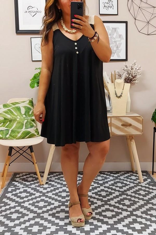 Vestido Alicia Negro