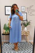 Vestido Boho Azul