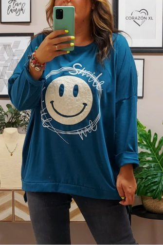 Camiseta Acid Azul