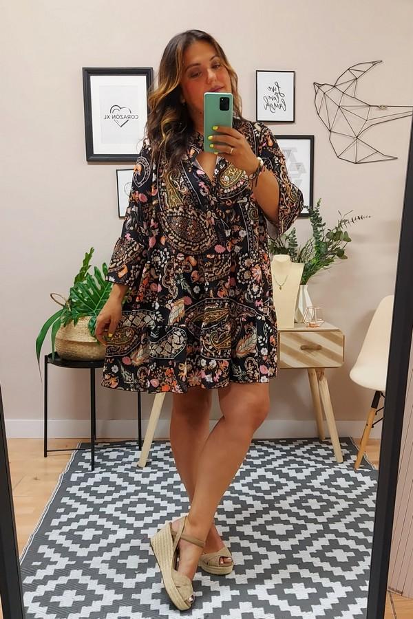 Vestido Liz Cachemir