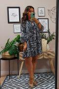 Vestido Liz Cebra