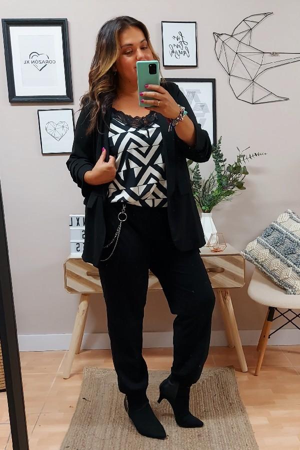 Pantalón Cadena Negra
