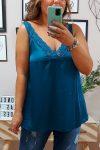 Lencera Cloe Azul Petroleo