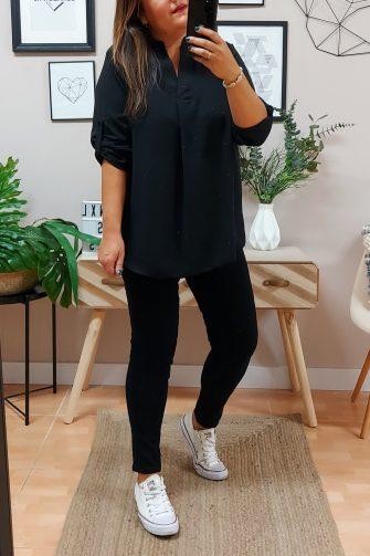 Blusa Larga Sofia Negro