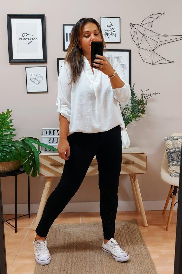 Blusa Leticia Blanca