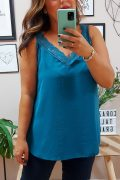 Lencera Cloe Crep Azul