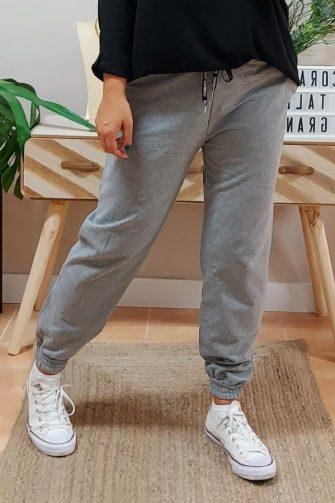 Pantalón Jogger Sweet Gris