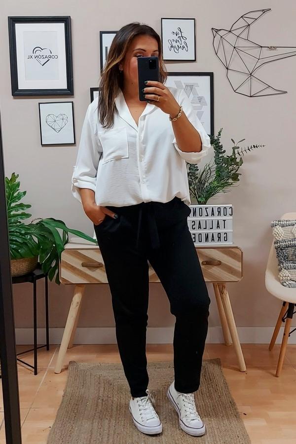 Pantalón Marta Negro