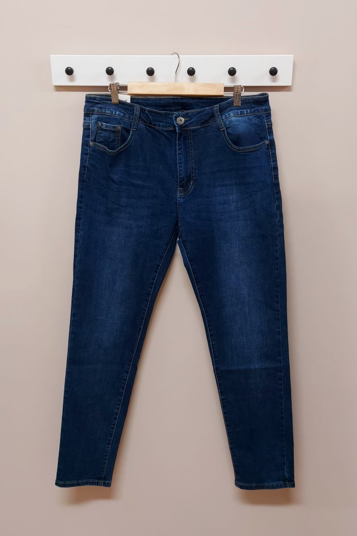 Jeans Desgaste Azul